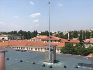 Монтаж на активна мълниезащита с мълниеприемник INGESCO PDC AIR в гр. Хасково