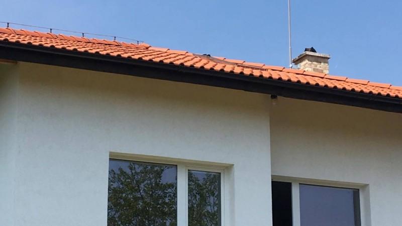 Мълниезащита Враца: Мълниезащита на вилна сграда с активен мълниеприемник 20 ms