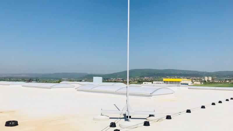 Монтаж на мълниезащита и заземителна инсталация на производствена база в гр. Игнатиево