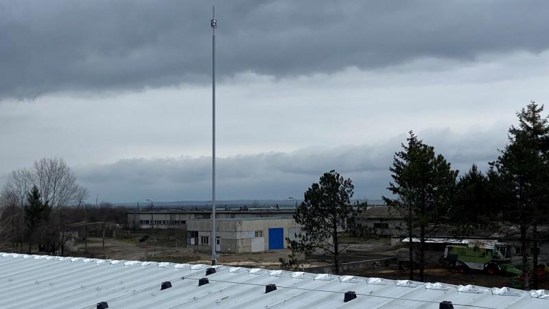 Мълниезащита Русе: Изграждане на активна мълниезащита на производствени сгради на Техномаш Инвест ООД