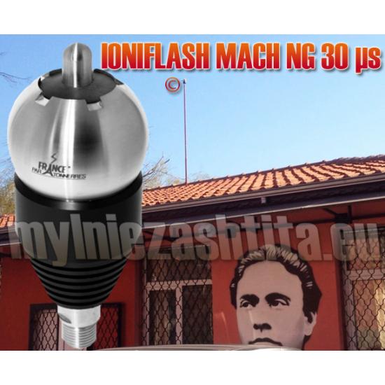 Мълниеприемник с изпреварващо действие IONIFLASH MACH 30 µs