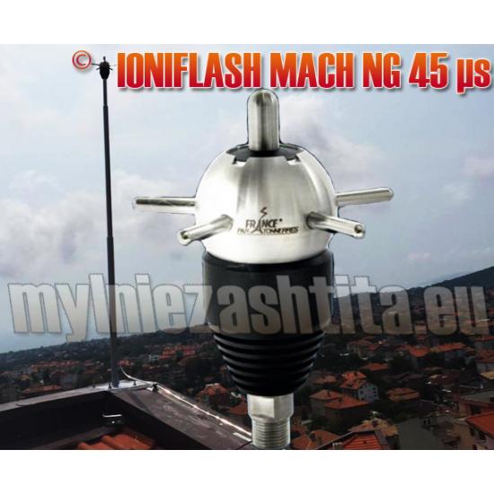 Мълниеприемник с изпреварващо действие IONIFLASH MACH 45 µs