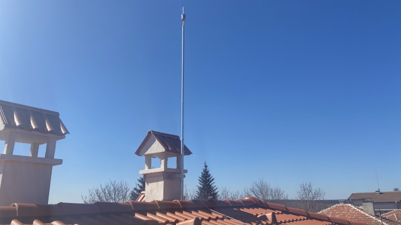 Мълниезащита Аксаково: Активна мълниезащита с мълниеприемник INGESCO PDC AIR 20