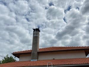 Мълниезащита Разград: Активна Мълниезащитна система на жилищна сграда в с. Мъдрево, обл. Разград