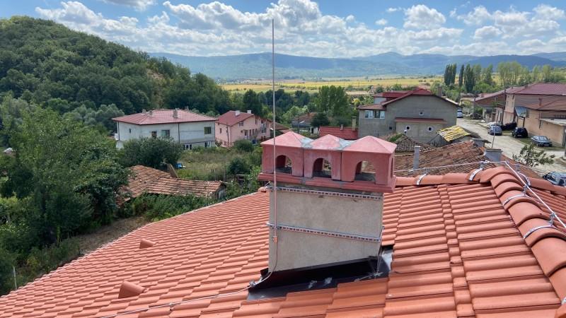 Kонвенционална мълниезащитна система на еднофамилна жилищна сграда в община Дългопол, област Варна!
