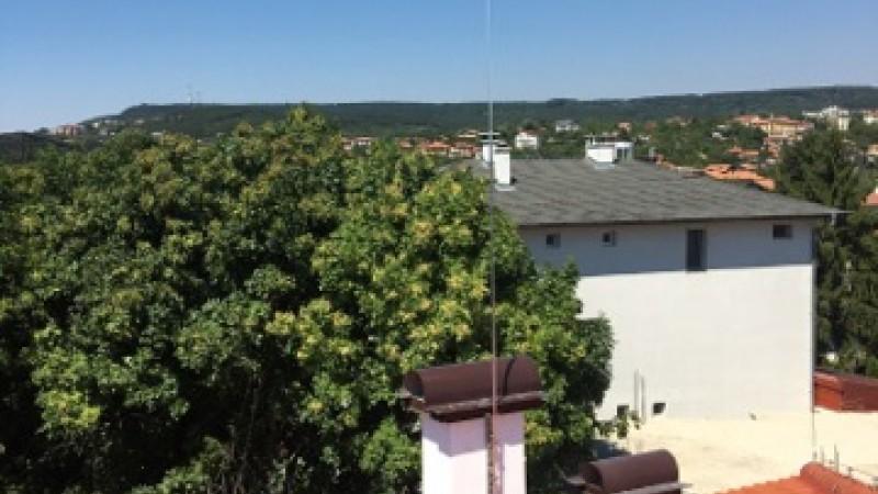 Мълниезащитна уредба на жилищна сграда във Велико Търново