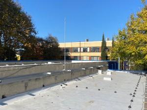 Монтаж на мълниезащита на  промишлена сграда с мълниеприемник с изпреварващо действие INGESCO PDC AIR