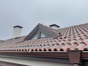 Мълниезащита в гр. Варна- Конвенционална мълниезащита на скатен покрив!