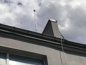Мълниезащита Русе: Монтаж на мълниезащитна инсталация на производствена сграда с активен мълниеприемник